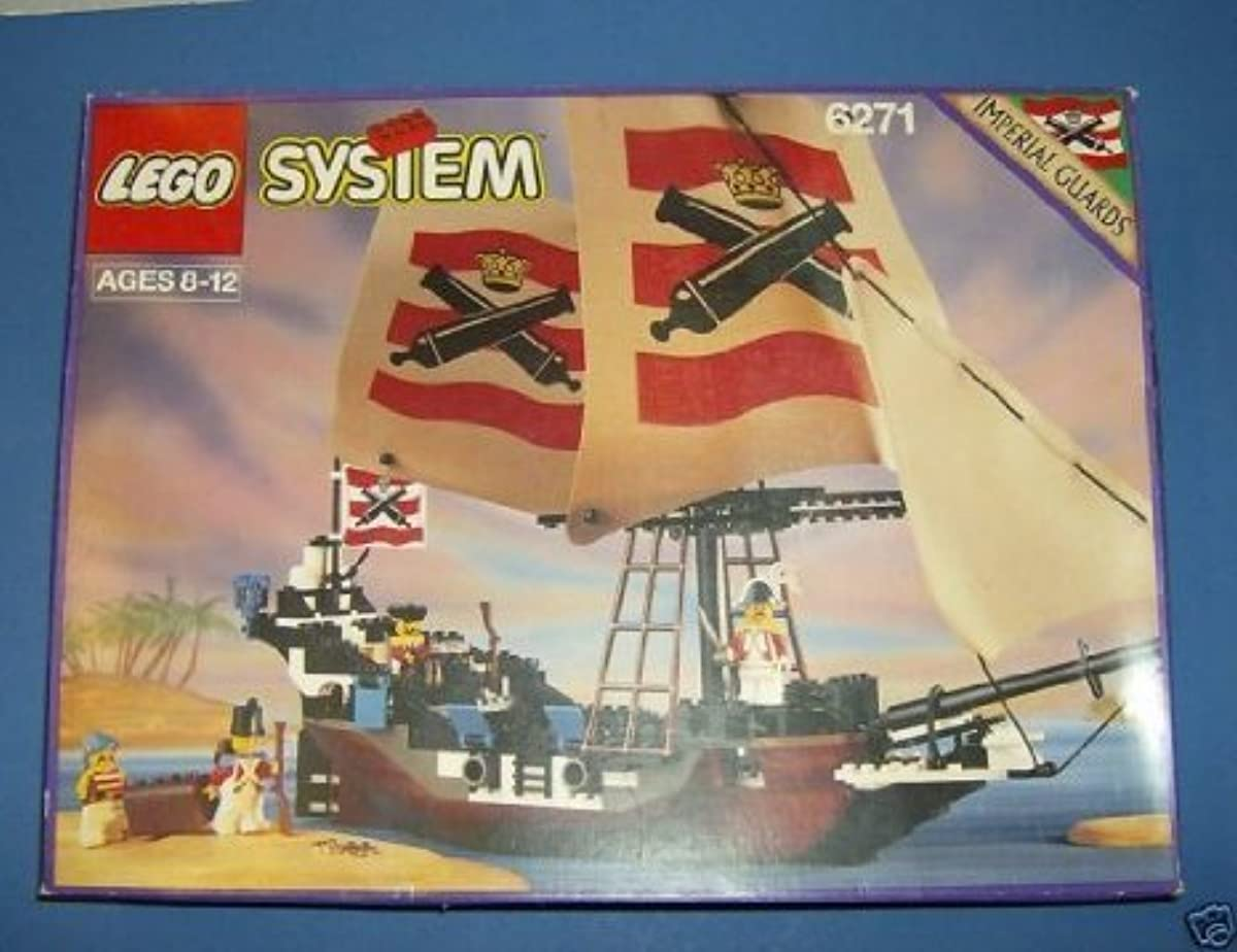 [해외] LEGO (레고) SYSTEM IMPERIAL FLAGSHIP PIRATES OF THE SEA 6271 블럭 장난감 (병행수입)