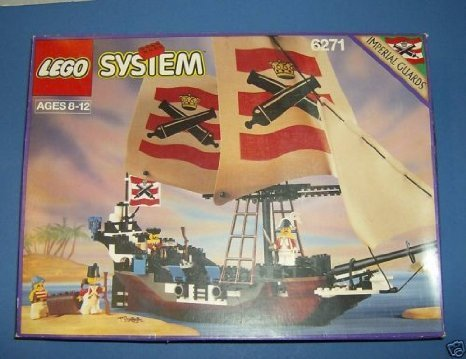 Lego System Imperial Flagship Pirates of the Sea (Imperial Systems)