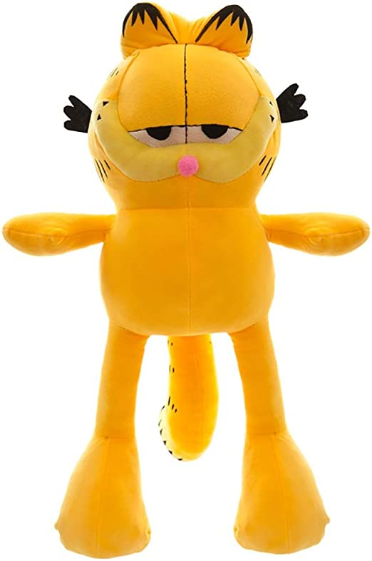 Amazon Com Non Mollare Mai Large Garfield Plush Toy Creative Boys And Girls Birthday Gift Doll Doll Doll Size 130cm Home Kitchen
