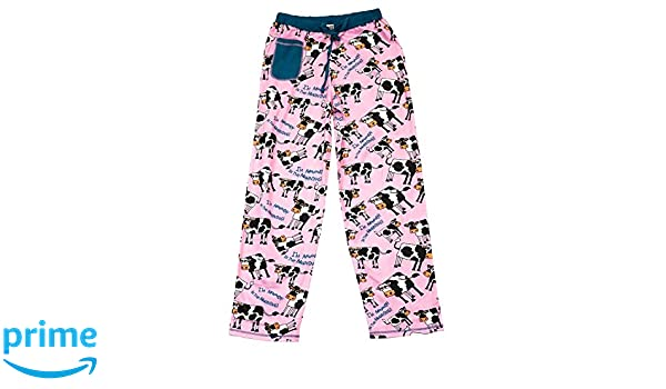 LazyOne Womens Buff Babe Fitted PJ Trousers
