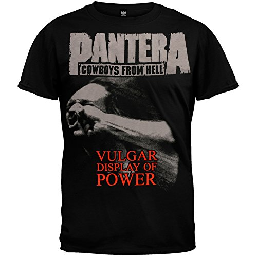 Pantera Stronger Than All Adult Men's Two Sides Black T-Shirt