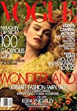 Vogue Magazine - Gorgeous Keira Knightley on Cover - Rare Alternative Cover (December, 2005)