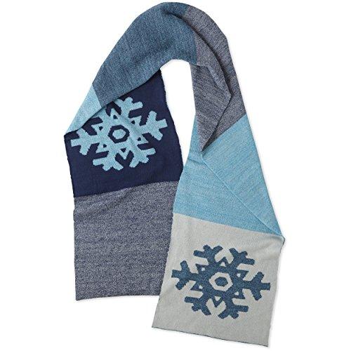Life is Good Women's Scarf Optimistic Snowfall Gloves, Darkest Blue, One Size