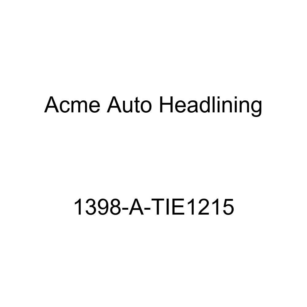 1959-60 Cadillac DeVille 4 Door Hardtop 6 Bows Acme Auto Headlining 1398-A-TIE1215 Turquoise Replacement Headliner