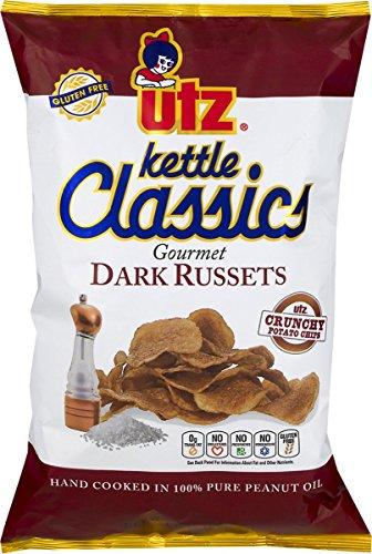 (Utz Kettle Classics Gourmet Dark Russets Potato Chips 8 oz. Bag (3 Bags))