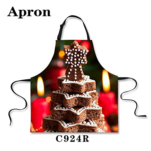 Simple Gingerbread Man Costume (Bigcardesigns Christmas Gingerbread Biscuit Apron Unisex)