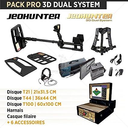 Detector de metales Makro Jeohunter 3d Dual sistema