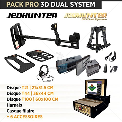 Detector de metales Makro Jeohunter 3d Dual sistema: Amazon.es: Bricolaje y herramientas