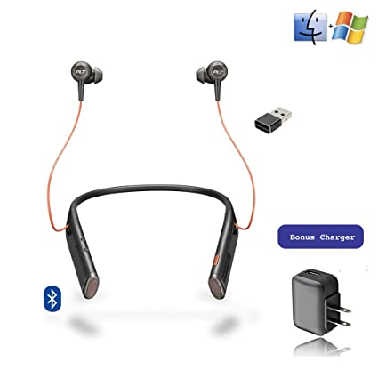 844bdef3e8a Image Unavailable. Image not available for. Color: Plantronics Bluetooth  Voyager 6200 UC Duo Headphone ...