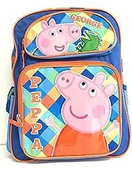 Peppa Pig George 16 Large Backpack