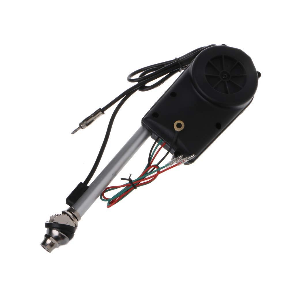 SEAyaho 12V Universal Car Antenna Radio Electric Power Automatic Antenna Aerial Kit