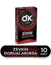 Okey Okey Zirve 10'lu Prezervatif 1 Paket(1 x 20 adet)
