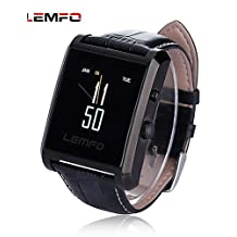 LEMFO LF06 Waterproof Bluetooth Smart Watch IPS Touch Screen Drop Resistance Smartwatch with Camera Sweatproof , silver