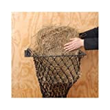 Easy Loading Wall Mounted Hay Hoops Horse Slow feeder WITH NET