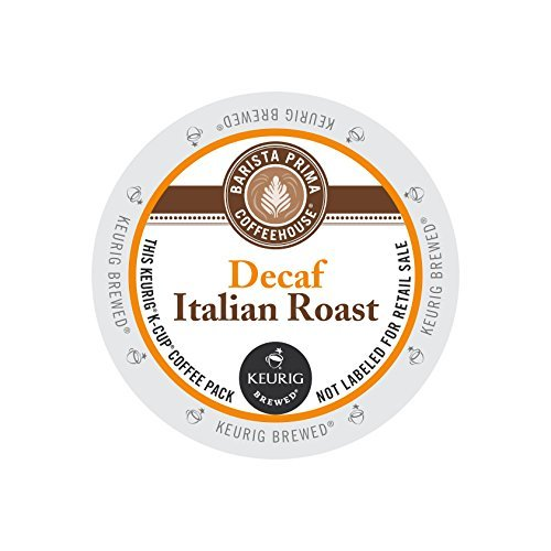 Barista Prima Coffeehouse Decaf Italian Roast KCups 96ct