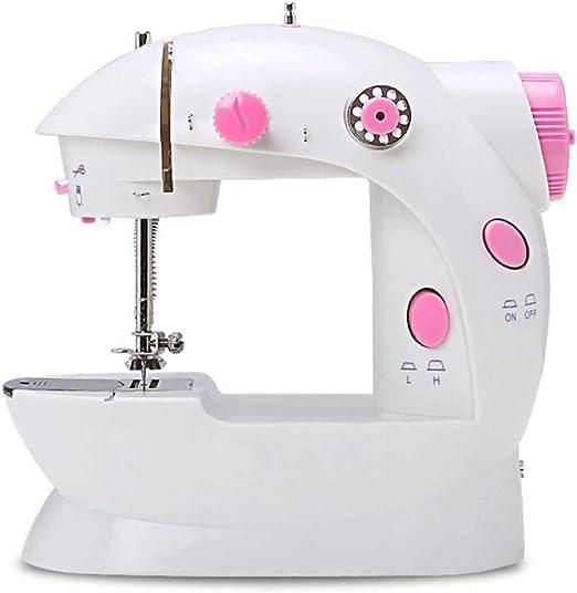 AYES - Máquina de coser electrónica, portátil, mini máquina de ...