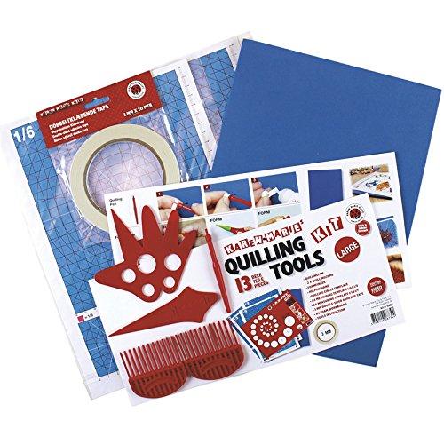 Karen Marie Klip: Quilling Tool Kit''Full'' by Karen Marie Klip Papirmuseets By A/S