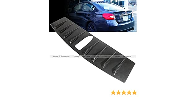 Remix Custom Roof Spoiler For 2015 2016 Subaru WRX//STI Vortex Generator Shark Fin Black Roof Spoiler Lip Wing