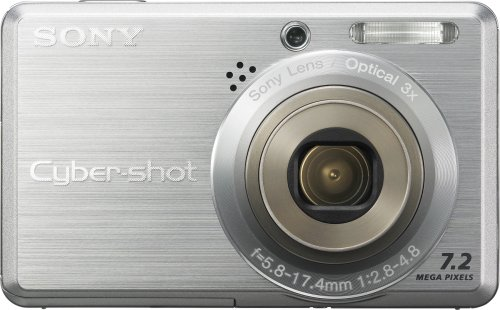 (Sony Cyber-shot DSCS750 7.2 MP Digital Camera with 3x Optical Zoom)