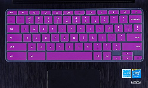 CaseBuy-Ultra-Thin-Silicone-Keyboard-Protector-Skin-Cover-for-Acer-Chromebook-14-CB3-431-CP5-471-14-inch-Chromebook-US-VersionPurple