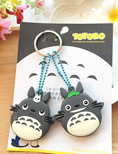 CJB Totoro Keychain Plastic Sleeve product image