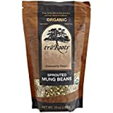 truRoots Organic Sprouted Mung Beans, 10-Ounce Pouches (Pack of 6) by truRoots