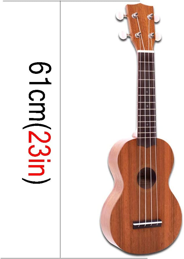 ZQ 23 Pulgadas Ukulele Ukulele Guitarra pequeña de Cuatro Cuerdas ...