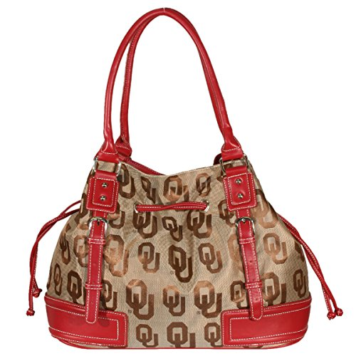 Oklahoma Sooners Purse - NCAA Oklahoma Sooners Endall Signature Handbag, Small