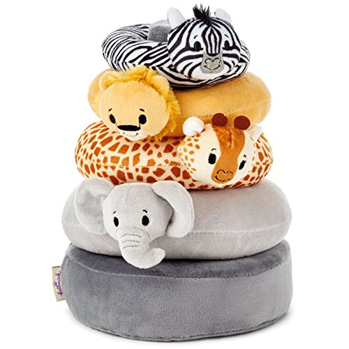Hallmark Easter Itty Bitty Stuffed Animals Baby Toys Toddler Toys, Noah's Ark Stacker ()