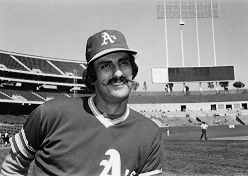 (Rollie Fingers (1946- ) Nroland Glen Fingers Known As Rollie American Baseball Pitcher Photographed In 1975 As A Member Of The Oakland Athletics At Oakland-Alameda County Coliseum Oakland California P)