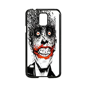 Batface Joker Custom Image Case, Diy Durable Hard Case Cover for Samsung Galaxy S5 I9600, High Quality Plastic Case By Argelis-Sky, Black Case New