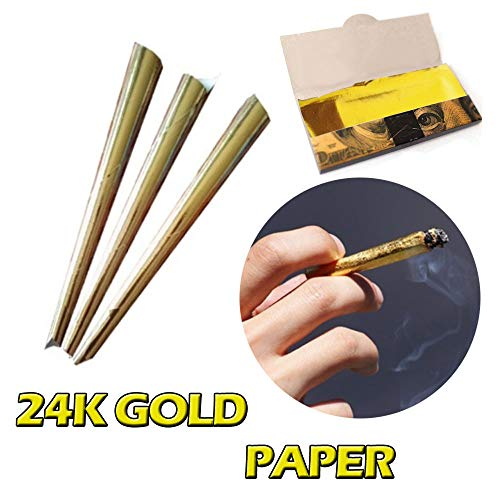 Euone  Hand-Rolled Paper Clearance , Rolling Paper Filter Tips 110MM Natural White Unrefined Cigarette Paper]()