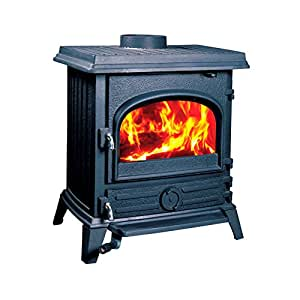 Amazon Com Hi Flame Hf517ubpb Pony Wood Stove Home Amp Kitchen