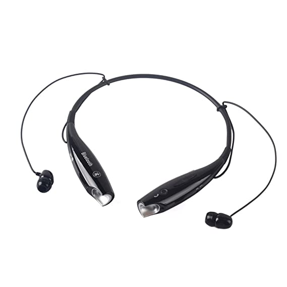 ad7da5d5420 NOKKOO HV800 Wireless Bluetooth Headphone Neckband Style Headset Earphone  Headphone for iPhone, Samsung Galaxy,