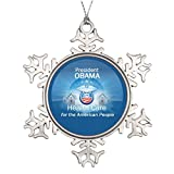SS OPER Custom Christmas Snowflake Ornament Health Care Vintage Christmas Snowflake Ornaments