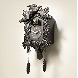 Acctim Black Forest Cuckoo Clock Mahogany One Size