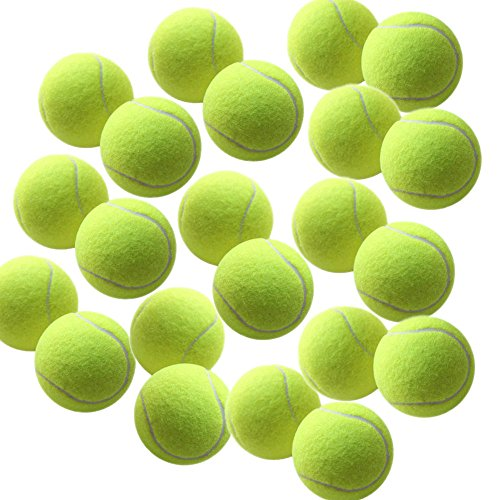 Swity Home 12 Pack Tennis Balls, Training Balls For Lessons, Practice, Playing With Pets