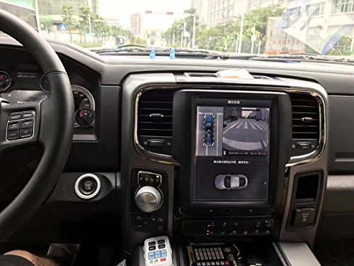 Dodge Ram Gps - Jumbo 10.4'' Quadcore Android 1280x768 Car Vertical Screen Stereo Tesla style 32GB ROM Bluetooth GPS Navigation for Dodge Ram1500 DVD Player 7-15 Business days Receive