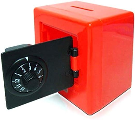 Conveniente Caja de Seguridad Caja de Almacenamiento de Monedas de ...