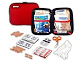Rapid Care First Aid RC-UV-108 First Aid Kit in Zippered Pouch (108 Piece)