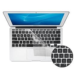 KB Covers ClearSkin 11 Ultra-Clear Keyboard Cover for MacBook Air 11-Inch (ClearSkin-M11-US)