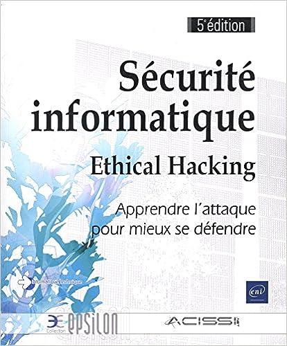 couverture du livre Sécurité informatique - Ethical Hacking