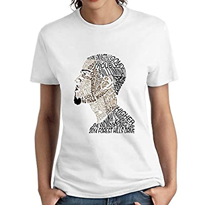 J.Cole Texting Head Unique Women's T-shirts