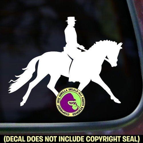 MALE Dressage Rider Vinyl Decal Sticker B