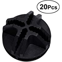 VOSAREA 20Pcs Conectores de plástico de Cubo