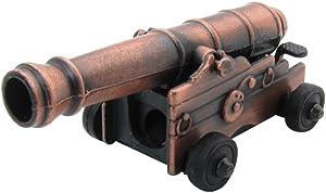 Treasure Gurus Naval Cannon Die Cast Miniature Replica Pencil Sharpener Diecast Collectible