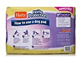 Hartz Home Protection Lavender Scent Odor Eliminating Gel Dog Pads - 100 Count