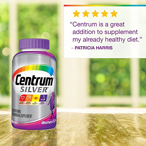 Centrum Silver Women (200 Count) Multivitamin / Multimineral Supplement Tablet, Vitamin D3, Age 50+ by Centrum (Image #4)