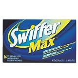 Swiffer Max Sweeper Refill - 17.88'' Width x 10'' Depth - Cloth
