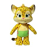 Snap Toys Word Party - Franny 7'' Stuffed Plush Baby Cheetah from the Netflix Original Series - 18+ Months